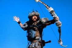 Gerry Lopez is Subotai. Even his bow gets cold....