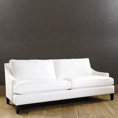 "Ballard Manchester Apartment Sofa:  35""H X 79""W X 36""D Seat: 21""H X 69""W X 20""D"