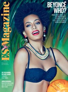 solange knowles | Solange Knowles, Cover of ES Evening Standard Magazine and main ...