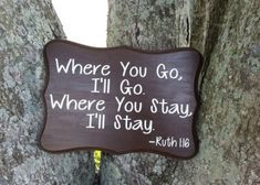 Where You Go, I'll Go. Where You Stay, I'll Stay Ruth Verse Engagement Photo Prop/Wood Wedding Bible Verse Sign/Custom Sign/Quote by CreativeDesignsByBri on Etsy Engagement Quotes, Engagement Photo Props, Engagement Pictures, Wedding Engagement, Winter Engagement, Engagement Photography, Photography Ideas, Wedding Bible, Wedding Guest Book