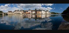 Le port de Saint-Goustan sur la rivière d'Auray, une petite ville nichée au fond du Golfe du Morbihan.