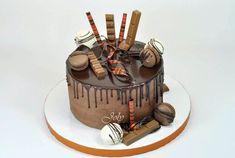 Ganache - recept, postup a použitie.Čo je to Ganache? Drip Cakes, Chocolate Truffles, Sweet Cakes, Sweet Recipes, Health Fitness, Cupcakes, Desserts, Food, Birthday Cakes