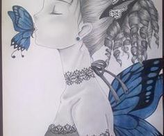 Kiss a butterfly