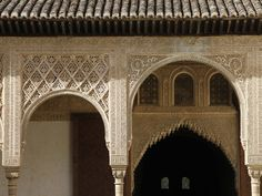 Patio De Arrayanes, Palacio De Comares, Nasrid Palaces, Alhambra, UNESCO World Heritage Site, Grana Lámina fotográfica