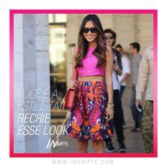 Você é a estilista! Recrie esse look! Acesse www.ingriffe.com e recrie esse look!  #ingriffe #moda #fashion #fashionblog #tendencias2014