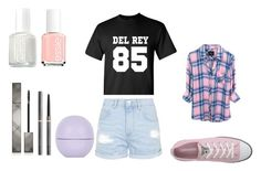 """""""Idea #5"""" by fashion-weekly on Polyvore featuring Topshop, Converse, Rails, Burberry and Essie"""