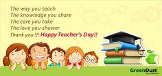 for our teachers!!