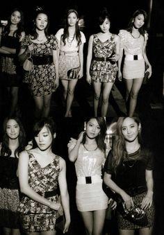 Yoona, Sunny, Seohyun, Tiffany, Sooyoung, and Yuri