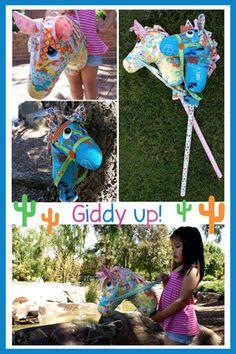 Giddyup Hobby Horse Pattern by braidcraft on Etsy