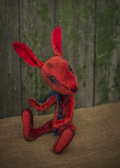 Fantasic teddy rabbit by RainbowHS on Etsy