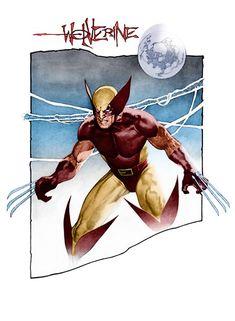 Travis Charest - Wolverine coloured by ~Timboe on deviantART   More Travis Charest  @ http://groups.yahoo.com/group/ComicsStrips & http://groups.google.com/group/ComicsStrips   http://travischarestspacegirl.blogspot.com  http://www.travischarestgallery.com