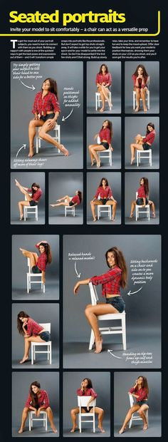 Sitting chair poses cheatsheet