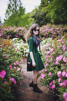 Shop this look on Kaleidoscope (dress, scarf, boots)  http://kalei.do/WpjV1Syep5uG6FDe