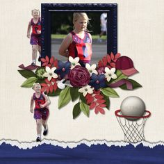 Netball Rocks by Scrapbookcrazy Creations by Robyn http://scrappy-bee.com/beehive/index.php?main_page=index&manufacturers_id=25
