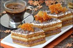 Caramelized Layer Cake/Prajitura cu foi din zahar ars Romanian Desserts, Romanian Food, My Recipes, Cake Recipes, Cooking Recipes, Food Cakes, Something Sweet, Cakes And More, Sweet Treats