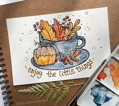 September illustrations on Behance Autumn Illustration, Watercolor Illustration, Watercolor Paintings, Watercolour, Bullet Journal Art, Bullet Journal Ideas Pages, Art Drawings Sketches, Cute Drawings, Watercolor Pictures