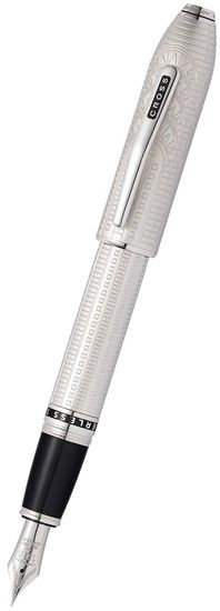 Peerless New York City Limited Edition Fountain Pen Platinum Plate