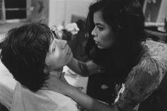 Mick and Bianca Jagger, 1972