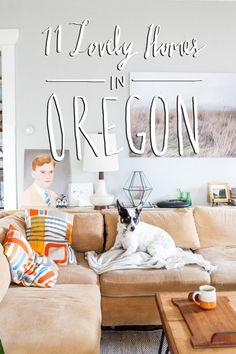Lovely Homes in Oregon