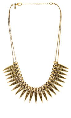 Vanessa Mooney The Phoenix Necklace in Gold | REVOLVE