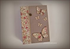 Carnet by Nath Guidi Book Binding, Floral Tie, Albums, Books, Libros, Book, Book Illustrations, Bookbinding, Libri