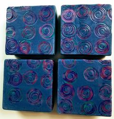 I did not mean for this to look so close to Amy's soap. My blue should have been much darker. A pretty bar, but one that I will submit for the challenge. Soaps, That Look, Challenges, It Is Finished, Bar, Pretty, Hand Soaps, Soap