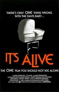 It's Alive - 1972 - Movie Poster
