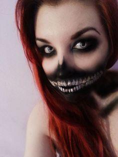 Misfit Halloween make up   Halloweenie DIY Costumes & Make-up