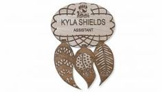 Name Badges, Name Tags, Personalize, Wood Engraving Kelowna British Columbia Name Badges, Wood Engraving, British Columbia, Names, Woodblock Print, Badges, Woodcut Art, Name Tags, Wood Carvings