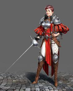ArtStation - knight, JUYEON JO