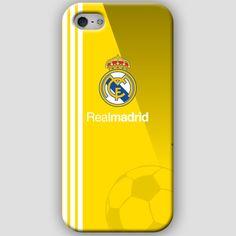 Fundas para iPhone 4-4s-5-5s, con diseños del Real Madrid CF. Materiales policarbonato semiflexible y  color amarillo y rayas blancas escudos Puedes ver más detalles y Comprar con envió gratis en: http://www.upaje.com/shop/fundas-moviles/real-madrid-cf-iphone-5-5s/ #fundas #carcasas #iphone4 #iphone4s #iphone5 #iphone5s #realmadrid #amarillo