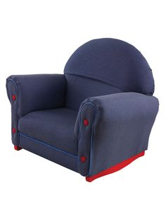 Upholstered Rocker with Slipcover