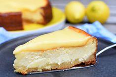Gebakken cheesecake met citroen en lemoncurd. Ik ben zot van cheesecake, en dan eigenlijk vooral van kwarktaart, maar nu is het tijd voor de gebakken versie