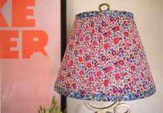 DIY Liberty of London lampshade