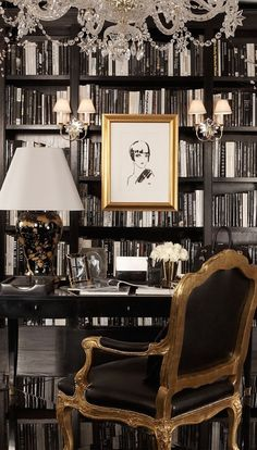 A sharp home office from Ralph Lauren Home a collection of