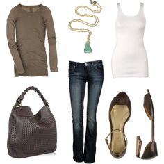 Layering! I have to pay more attention to layering! The long sleeve tee and muscle tank...duh! <3 the shoes
