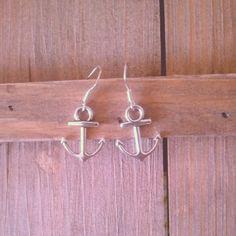 anchor earrings. Sterling silver 925. $6/ 4.95€