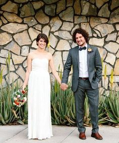 A Laid-Back Desert Wedding That Didn't Skimp On Style #refinery29  http://www.refinery29.com/carats-and-cakes/3