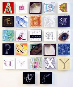 Pen Dragons Calligraphy Samples