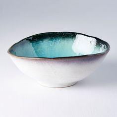 Large bowl Sky Blue 24 cm - Made In Japan Europe Sashimi Sushi, Sushi Plate, Japanese Sake, Colored Sand, Made In Japan, Large Bowl, Light Beige, Serving Bowls, Wood