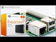 (11) Turn Hard Drive into Network Storage with a Raspberry Pi - YouTube