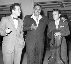 Viruta, Capulina y Roberto Gomez Bolaños Chespirito.