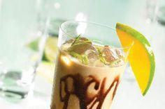 "Fruitshake με ""ΠΤΙ-ΜΠΕΡ"" ΠΑΠΑΔΟΠΟΥΛΟΥ Coffee Drinks, Panna Cotta, Pudding, Ethnic Recipes, Sweet, Desserts, Food, Candy, Tailgate Desserts"