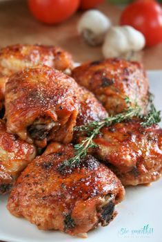 Polish Recipes, Meat Recipes, Crockpot Recipes, Chicken Recipes, Cooking Recipes, Healthy Recipes, Yummy Food, Tasty, Tandoori Chicken