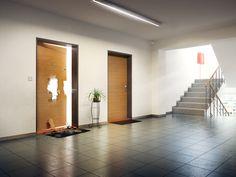 Rozdíl mezi obyčejnými dveřmi a bezpečnostními dveřmi NEXTSD 101 se hned pozná