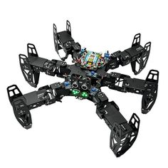 Shopping cheap ZL-TECH QF-6 6-Legged Arduino DIY RC Robot APP Stick Control Obstacle Avoidance Educational Kit on RCbuying.com at discount. Sierra Leone, Arduino, Rc Robot, Smart Robot, Bluetooth, Goods And Service Tax, Goods And Services, Seychelles, App Menu