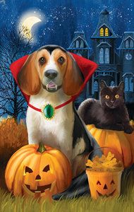 Scary but Cute! Count Dogula 500 Piece Jigsaw Puzzle from SunsOut Puzzles. Perfect for a Halloween Gift!