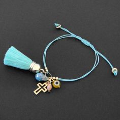 Necklace Tutorial, Diy Necklace, Tassel Necklace, Bracelet Crafts, Jewelry Crafts, Macrame Art, Cute Jewelry, Handcrafted Jewelry, Piercings