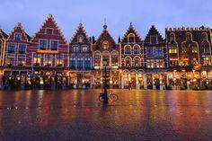 les plus belles villes de noel Bruges, Belgique