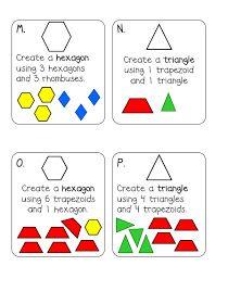 Kindergarten Nerd Herd: Shape Task Cards